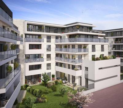 façade programme Cascade, Chatenay-Malabry 92, Erisma