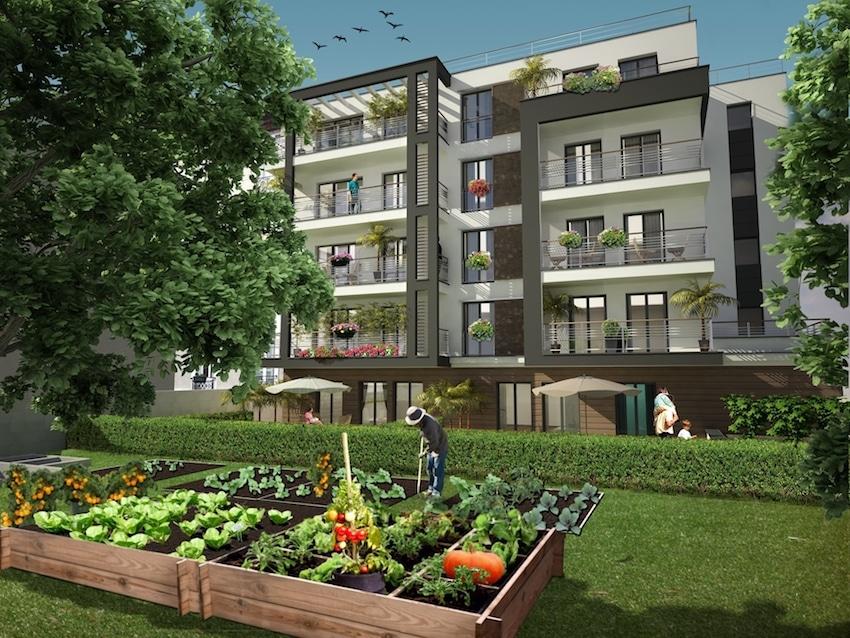 Les Jardins Périer par Erisma à Montrouge