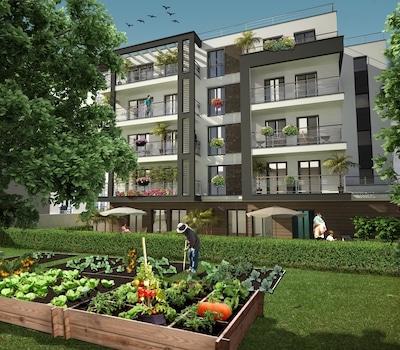 façade programme Jardins Périer, Montrouge, Erisma