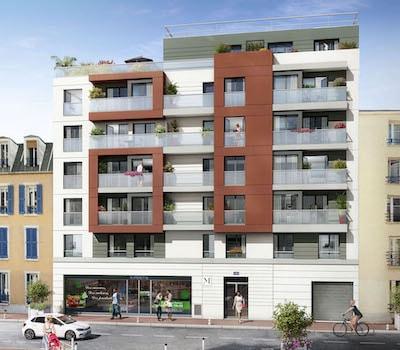 façade programme M Confidentiel, Montrouge, Erisma